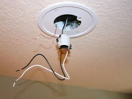 image of fixture recessed lighting installation