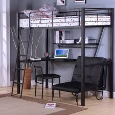 bunk bed with desk. Emory Loft Bed With Desk Bunk W