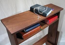 Standard Prayer Bench  Shrine  Pinterest  Bench Prayer Room Anglican Prayer Bench