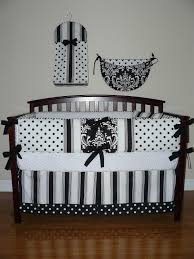 excellent baby nursery room design with black and white crib baby bedding awesome uni baby