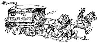 black and white covered wagon. tbp070.gif (11474 bytes) black and white covered wagon