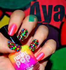 Neon Nail Art | Graham Reid
