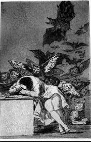 Image result for goya the sleep of reason