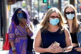 Los Angeles to require masks at large ...