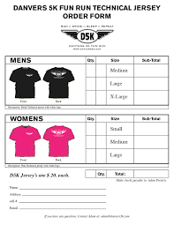 T Shirt Order Forms Sample T Shirt Order Form Template D 24 K Orderform Efficient 2