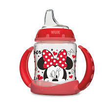 NUK <b>Disney Minnie Mouse Learner</b> Cup 6+m, 1-Pack - Walmart.com ...