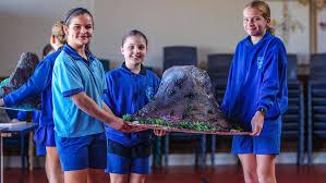 Picture Gallery: Kalgoorlie's St Mary's Primary School students show off  homemade volcanoes   Kalgoorlie Miner