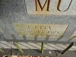 Florence Etta Montgomery Mullen (1873-1923) - Find A Grave Memorial