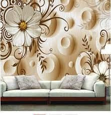 Flower Murals Wallpaper 5D Wall Mural ...
