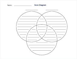 Blank Venn Diagram Printable Free Printable Graphic Organizers Venn Diagram 3 Circles