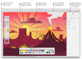 drawing apps for mac artboard