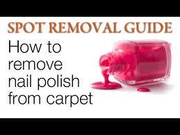 Getting nail polish out of carpet Nepinetwork Wikihow Ways To Remove Fingernail Polish From Carpet Wikihow