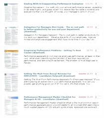 Annual Reviews Examples Performance Job Appraisal Comments