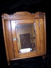 Antique Medicine Cabinet Antique Oak Medicine Cabinet