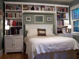 built in bookshelves around bed 30 amazing modern master bedroom storage ideas homedecort