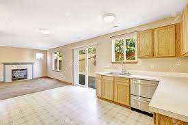 Bright Kitchen Bright Kitchen Room In Countryside House Room Has Exit To