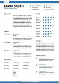 Project Templates Word Free Project Manager Resume Template Microsoft Word