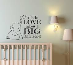 decals nursery walls elephant wall decal