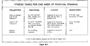 an exle of designing fitness tasks is provided in