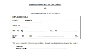 Explain the benefit and consideration: Free 8 Employment Contract Samples In Pdf Ms Word