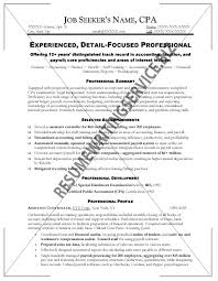 resume for an accountant professional accounting resume musiccityspiritsandcocktail com