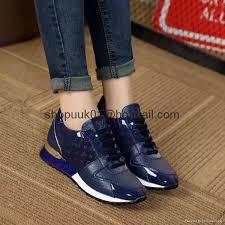 louis vuitton shoes 2017. louis vuitton women\u0027s run away sneaker fashion ladies lace up shoes 20 2017