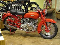 featured motorcycle 1952 vincent red rapide national