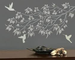 wall stencil budding linden branch wall stencil easy reusable wall art wall stencil art uk  on wall art stencils uk with wall stencil wall stencil art uk flatworld me