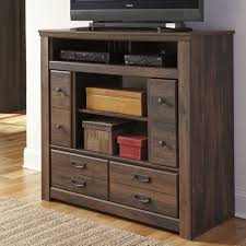 Media Chest Bedroom Classic Bedroom Media Chest 3 Storage Drawer 2 Storage Cubbies