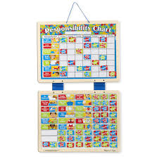 Melissa Doug Magnetic Responsibility Chart Toy At