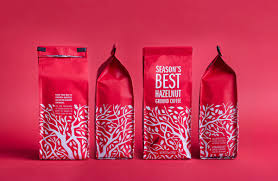 Side gusset pouch, box bottom pouch, stand up pouch Mr Mrs Season S Best Coffee