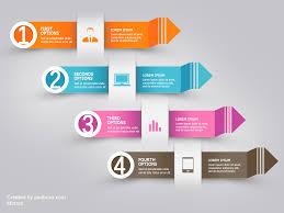 Free Psd Infographic Modern Arrow By Muhiza On Deviantart