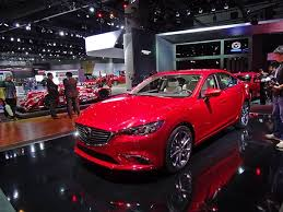 mazda 6 2015 blue. rolling onto the scene in los angeles revamped 2016 mazda mazda6 puts on a new face and adds more refinement to make it competitive against rivals 6 2015 blue