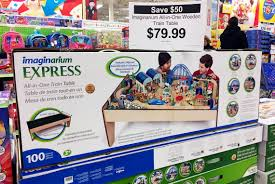 imaginarium wooden train table or pretty garden mansion 79 99 at toys r us the krazy lady