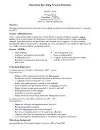 Executive secretary resume and get inspired to make your resume with these  ideas 17