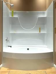tub and shower surrounds clean crisp