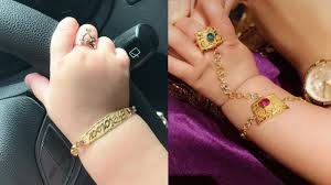 Gold Ring Bracelet Designs Gold Bracelets And Ring Designs Ideas For Baby Cute Baby Bracelets With Rings Designs Baby Jewelry