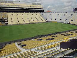 Lamar Dixon Expo Center Seating Chart Lsu Tiger Stadium View From East Sideline 306 Vivid Seats