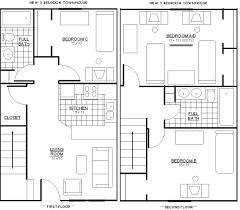 Creative 3 Bedroom Floor Plans Remodel Interior Planning House Ideas Unique  Under 3 Bedroom Floor Plans