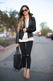 nordstrom fringe bag zara leather moto jacket fall fashion inspo black