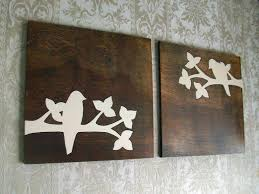 wood wall art ideas for home awesome wood wall art idea with white bird painting  on iron and wood panel wall art in white with wall awesome wood wall art idea with white bird painting design