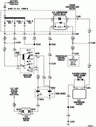 2000 dodge dakota electrical wiring diagram electrical wiring