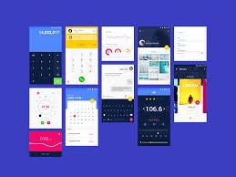 Material Design UI Kit for Sketch Freebie - Download Sketch Resource ...