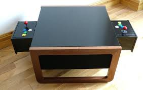 arcade coffee table arcade table with controls on both sides arcade coffee table australia