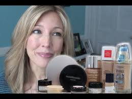 best worst testing 5 high end foundations for aging skin