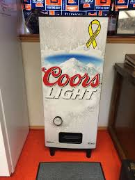 Coors Light Vending Machine Gorgeous Coors Light Refresherator Coors LightMy Daddys Beer