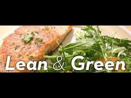 week of lean and green meals