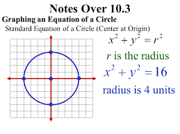 notes over 10 3 r is the radius radius is 4 units