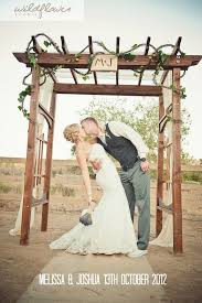 m j chic diy ladder shaped wooden arch for ranch wedding timbo ourdoor decoration