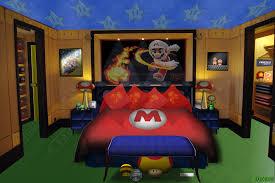 Super Mario Bros Bedroom Decor Mario Bedroom